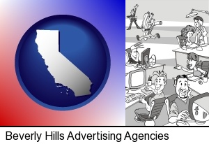 Beverly Hills, California - an advertising agency