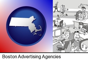 an advertising agency in Boston, MA