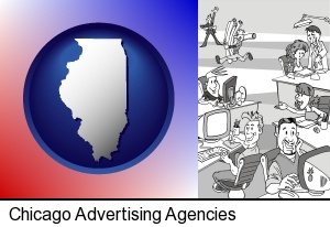 an advertising agency in Chicago, IL