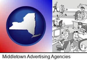 an advertising agency in Middletown, NY