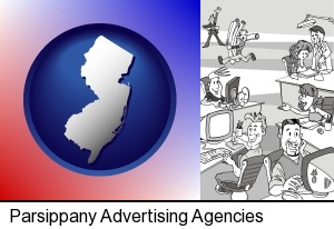 an advertising agency in Parsippany, NJ
