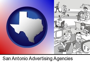 San Antonio, Texas - an advertising agency