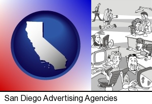 San Diego, California - an advertising agency